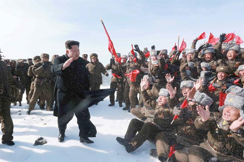 EFE/EPA/KCNA SOUTH KOREA