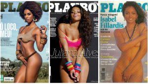 """Em 40 anos, a """"Playboy"""" Brasil  só teve 9 capas com mulheres negras"""