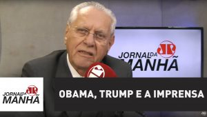Obama, Trump e a imprensa