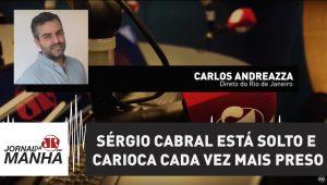 Sérgio Cabral está solto e carioca cada vez mais preso em casa