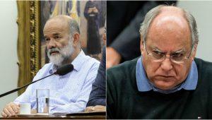 Montagem/Agência Brasil e Câmara dos Deputados)