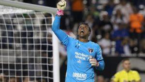 Dorival Junior barra Renan Ribeiro em treino e escala Sidão no gol do São Paulo