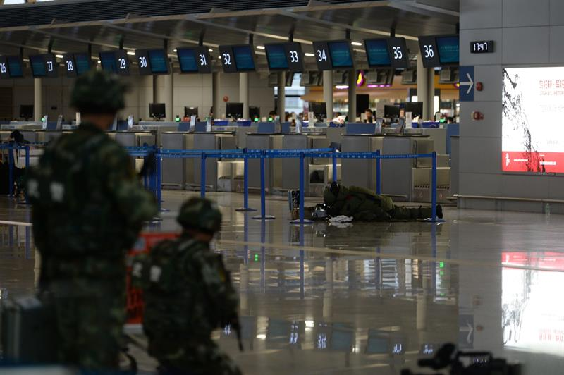 Aeroporto Xangai : Explosão de suposta bomba rudimentar em aeroporto