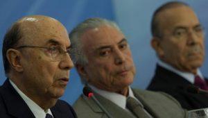 Aliados de Temer minam pretensão de Meirelles por 2018