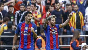 Uruguai e Argentina querem unir Messi e Suárez em campanha por Copa de 2030