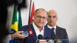 Alckmin critica rombo da meta, mas diz que decisão não interfere nas contas do Estado