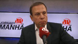 """Doria diz que se esforçará """"pessoalmente"""" para manter aliança com DEM"""