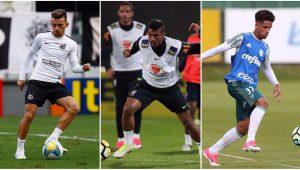 Montagem / Ricardo Saibun / Santos FC / Lucas Figueiredo / CBF / César Greco / SEP