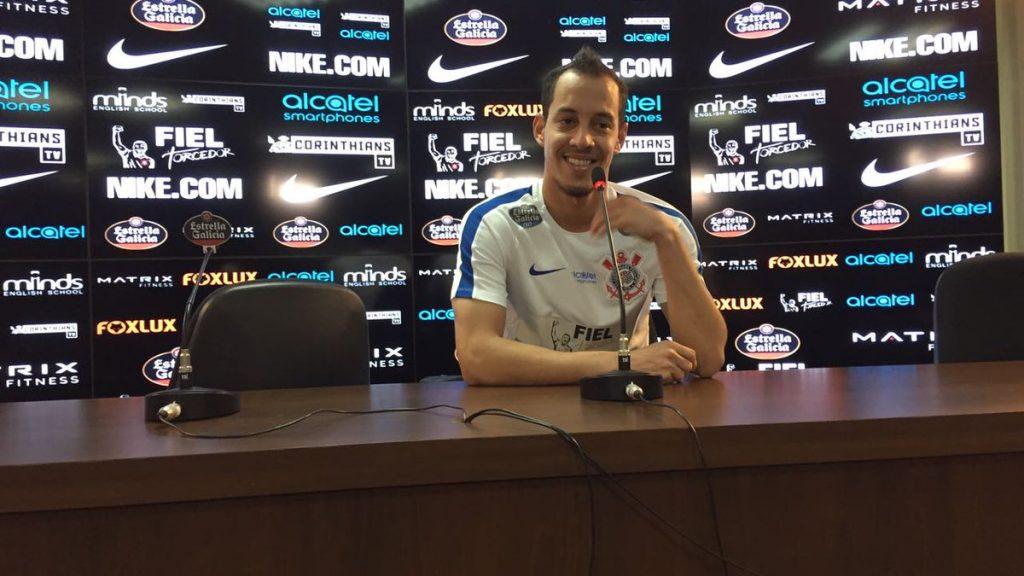 Reprodução-Twitter Corinthians
