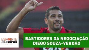 Repórter revela bastidores da negociação Diego Souza-Verdão