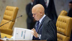 Moraes concede liminar e determina que votação sobre caso Aécio seja aberta