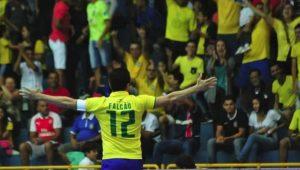 Reprodução / Facebook / Confederação Brasileira de Futsal
