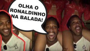 LOUCO É POUCO! Olha só o que o Ronaldinho fez na boate