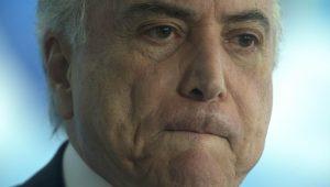 Mau tempo faz Temer cancelar compromisso em SP, dizem organizadores