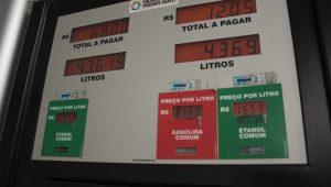 Preços dos combustíveis recuaram 3,16% no IPCA-15 de julho, afirma IBGE