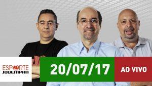 Assista ao Esporte em Discussão desta quinta-feira (20/07/2017)