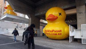 O pato da Fiesp voltou: Temer deve se preocupar?