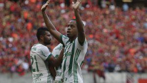 Palmeiras bate o Sport no Recife e sobe para a quinta colocação do Brasileirão