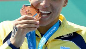 Ana Marcela Cunha fatura terceiro título mundial na maratona aquática de 25km