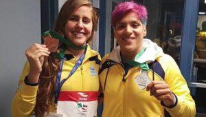 Após 1 ouro e 2 bronzes em Mundial, Ana Marcela Cunha festeja prata no Canadá