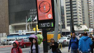 Julho foi o mais seco dos últimos 8 anos em São Paulo