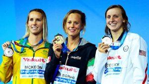 Pellegrini leva ouro nos 200m livre e impõe 1ª derrota a Ledecky em Mundiais