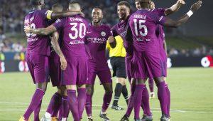 Na estreia de Danilo, City goleia Real em amistoso com recorde de público nos EUA