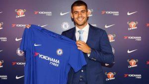 Morata assina por cinco anos e é o novo atacante do Chelsea