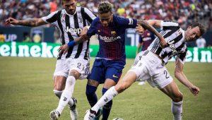 Neymar arrebenta em campo contra a Juventus e segue calado sobre o seu futuro