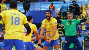 Brasil derrota os Estados Unidos por 3 a 1 e vai à decisão da Liga Mundial