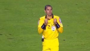 Corintiano? Árbitro comemora fim de São Paulo 1 x 1 Grêmio