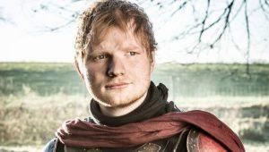 """Diretor de GoT sai em defesa de Ed Sheeran: """"ator encantador"""""""