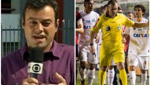 Houve interferência da TV Globo no árbitro de Santos x Flamengo?