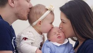 Thais Fersoza publica foto fofa de Melinda beijando Teodoro