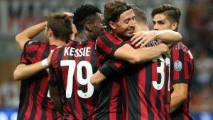 Milan faz 6 a 0 em time da Macedônia e põe um pé na fase de grupos da Liga Europa