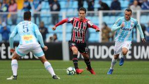 São Paulo empata com Avaí e se mantém fora da zona do rebaixamento do Brasileirão