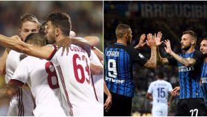 Internazionale e Milan estreiam bem e vencem por 3 a 0 no Campeonato Italiano