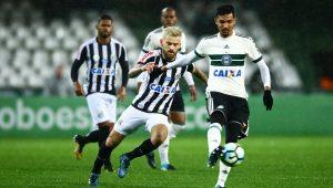 Santos tem atuação apática e empata com o Coritiba no Couto Pereira