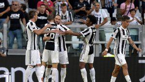 Juventus domina na estreia do Italiano e vence fácil o Cagliari