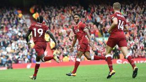 Liverpool perde chances, mas bate Crystal Palace e vence a 1ª no Inglês