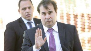 Maia: votação de proposta dos supersalários deve ocorrer até março de 2018
