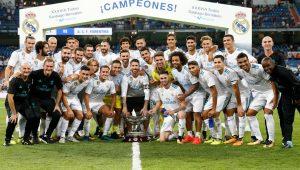 Com golaço de Cristiano Ronaldo, Real bate Fiorentina e fatura torneio amistoso