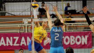 Seleção Feminina de Vôlei vence fácil a Argentina na estreia do Sul-Americano
