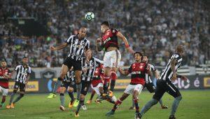 No Engenhão, Botafogo e Flamengo empatam sem gols na 1ª semi da Copa do Brasil