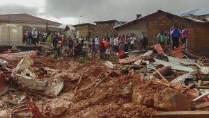 Chega a quase 500 número de mortos em deslizamento de terra em Serra Leoa