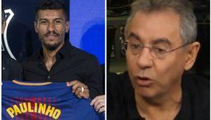 """Flavio Prado vê negócio suspeito: """"Paulinho não vale 40 milhões"""""""