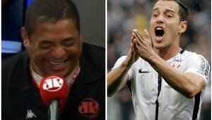 Olha o que Vampeta achou da 1ª derrota do Timão no Brasileiro