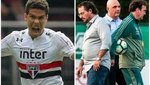São Paulo pode fazer explodir crise no Palmeiras.
