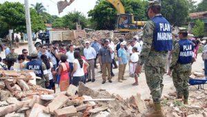Terremoto em Oaxaca, no sul do México, deixou centenas de desabrigados