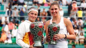 Jelena Ostapenko conquistou o título do Torneio de Seul contra Bia Haddad